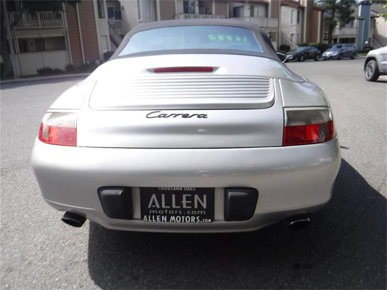 Large Picture of 2000 Porsche 911 located in Thousand Oaks California Offered by Allen Motors, Inc. - LE9D