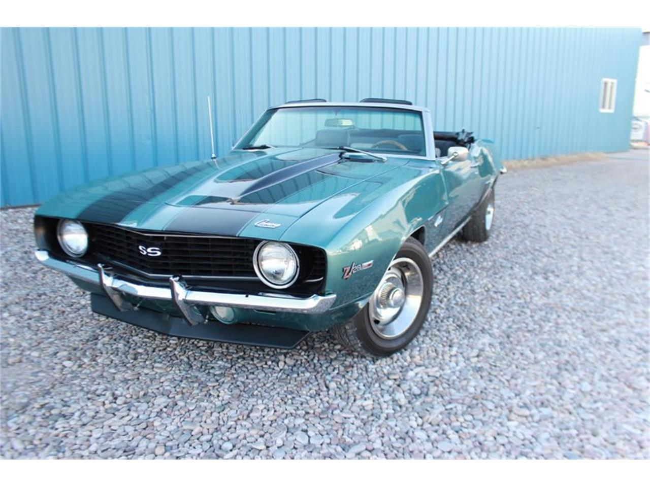 Large Picture of 1969 Chevrolet Camaro located in Vernal Utah Offered by Salt City Classic & Muscle - LEAX