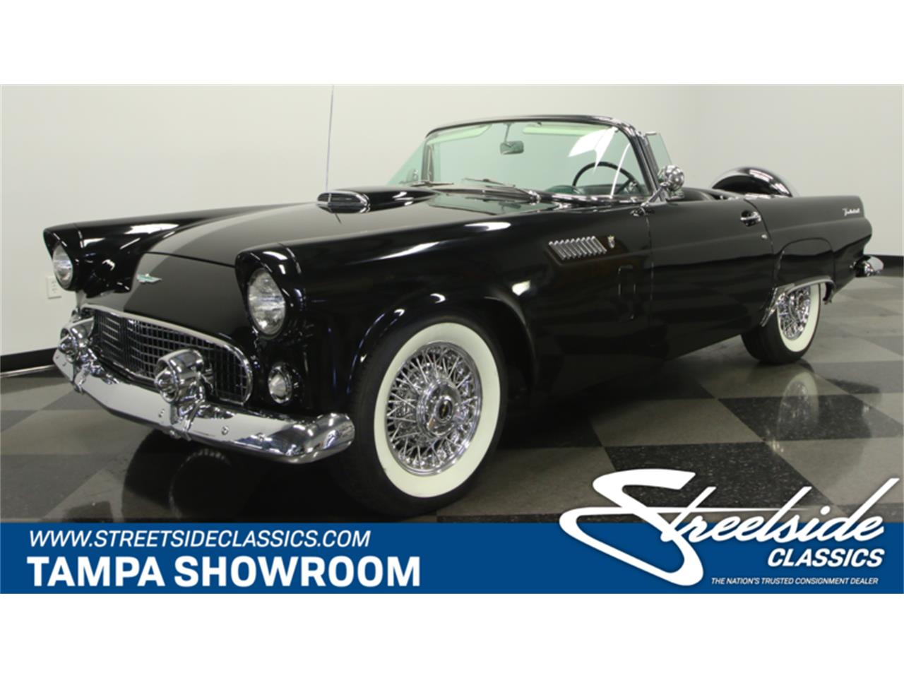 Large Picture of 1956 Ford Thunderbird located in Florida - $59,995.00 Offered by Streetside Classics - Tampa - LEBI
