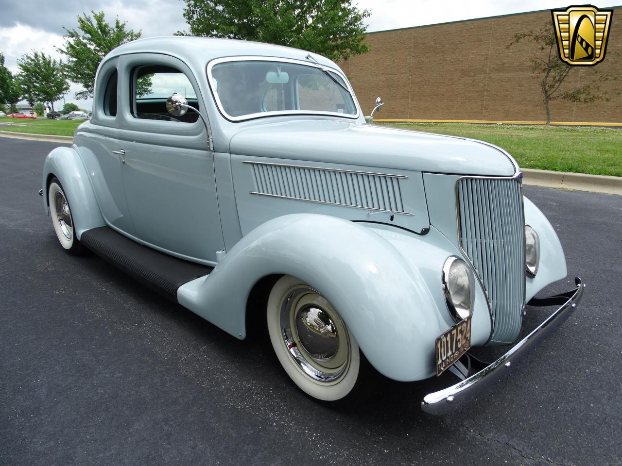 Large Picture of Classic 1936 Ford 5-Window Coupe located in O'Fallon Illinois - $57,000.00 Offered by Gateway Classic Cars - St. Louis - LED7