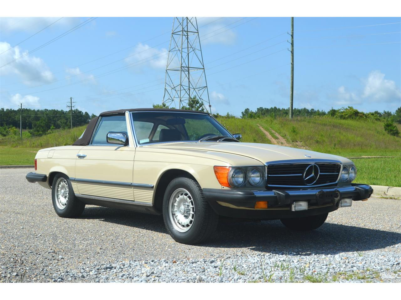 Large Picture of 1980 Mercedes-Benz 450SL located in Alabaster Alabama Offered by Leaded Gas Classics - LEDI