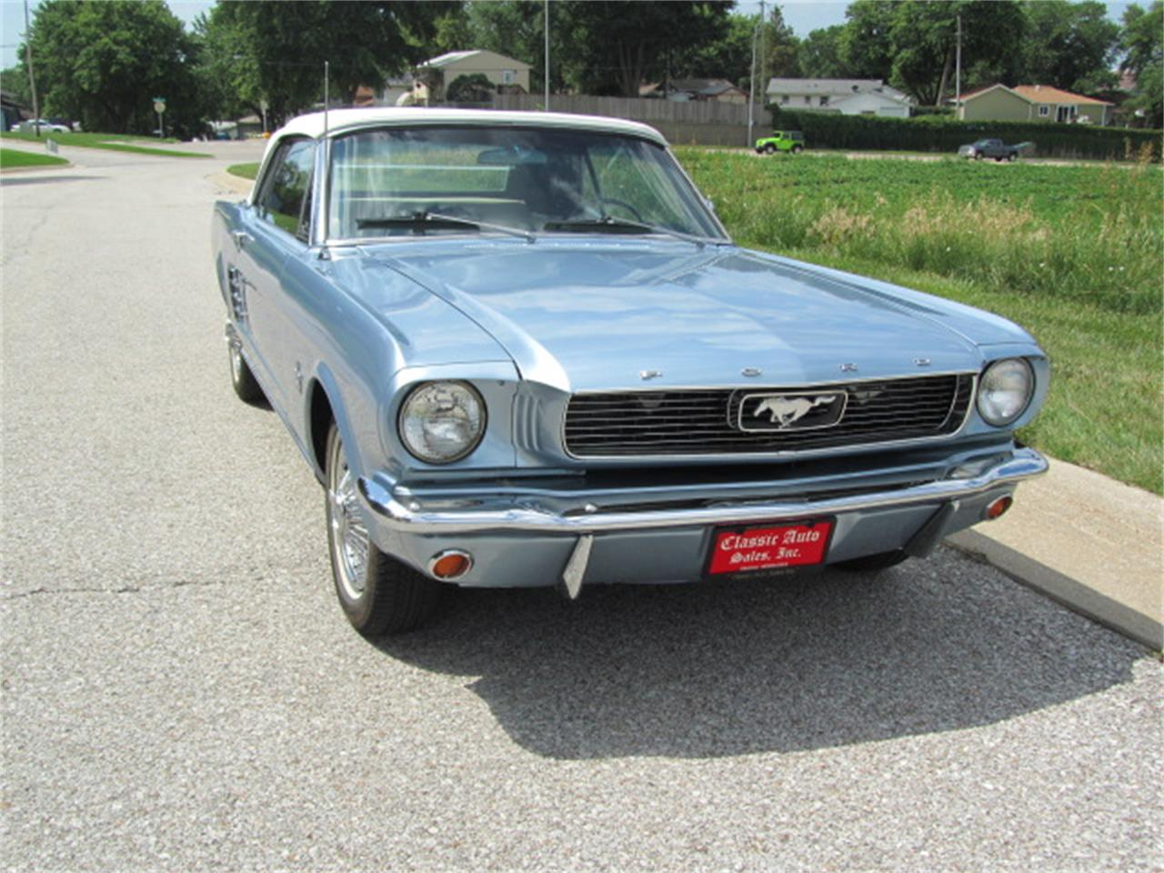 Large Picture of '66 Mustang - LEDU