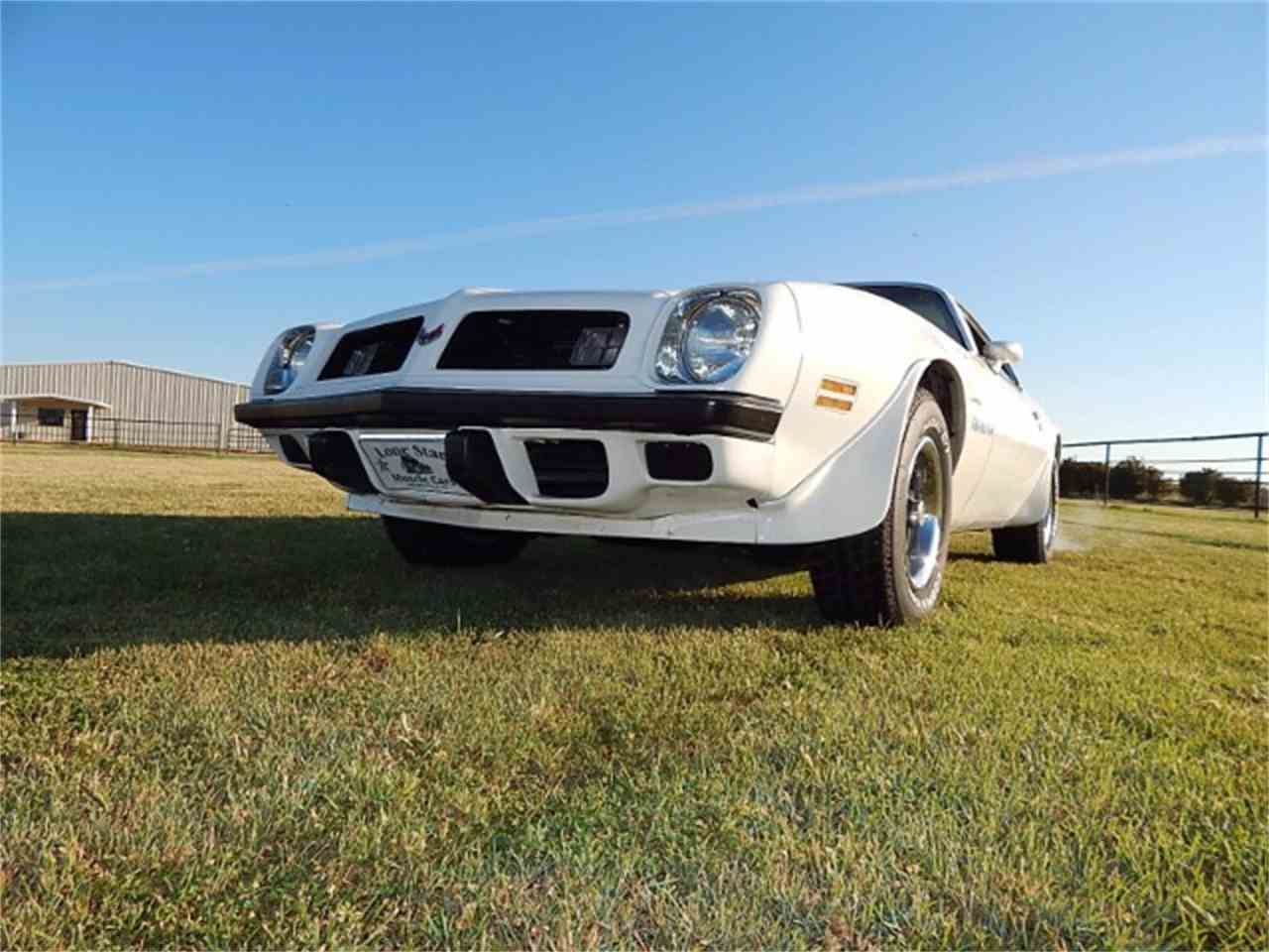 Large Picture of '75 Firebird Trans Am located in Wichita Falls Texas Offered by Lone Star Muscle Cars - L8JT