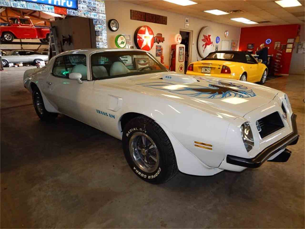 Large Picture of 1975 Pontiac Firebird Trans Am located in Wichita Falls Texas - $31,900.00 Offered by Lone Star Muscle Cars - L8JT