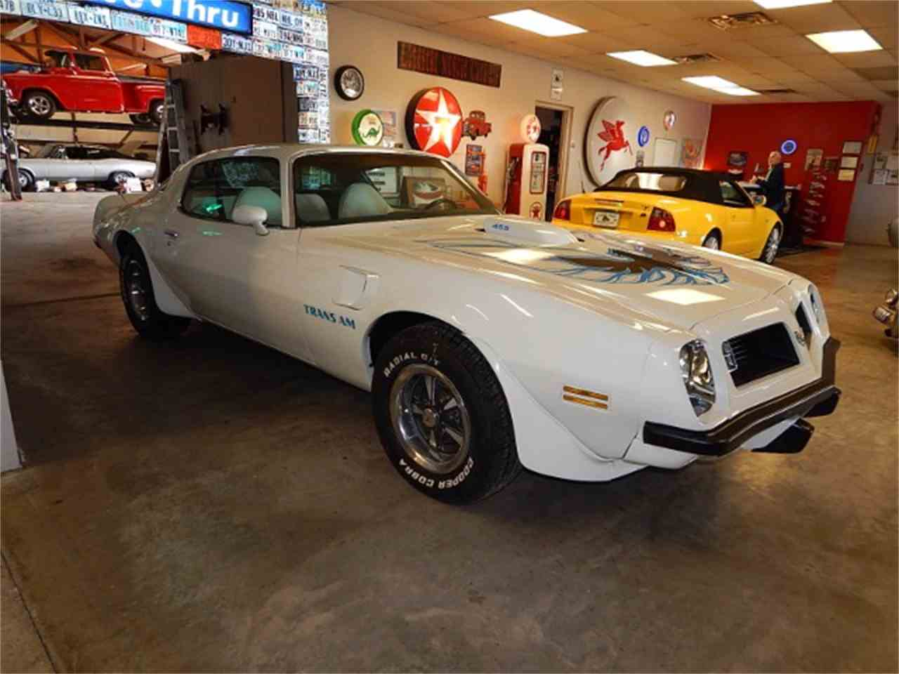 Large Picture of '75 Pontiac Firebird Trans Am located in Wichita Falls Texas Offered by Lone Star Muscle Cars - L8JT
