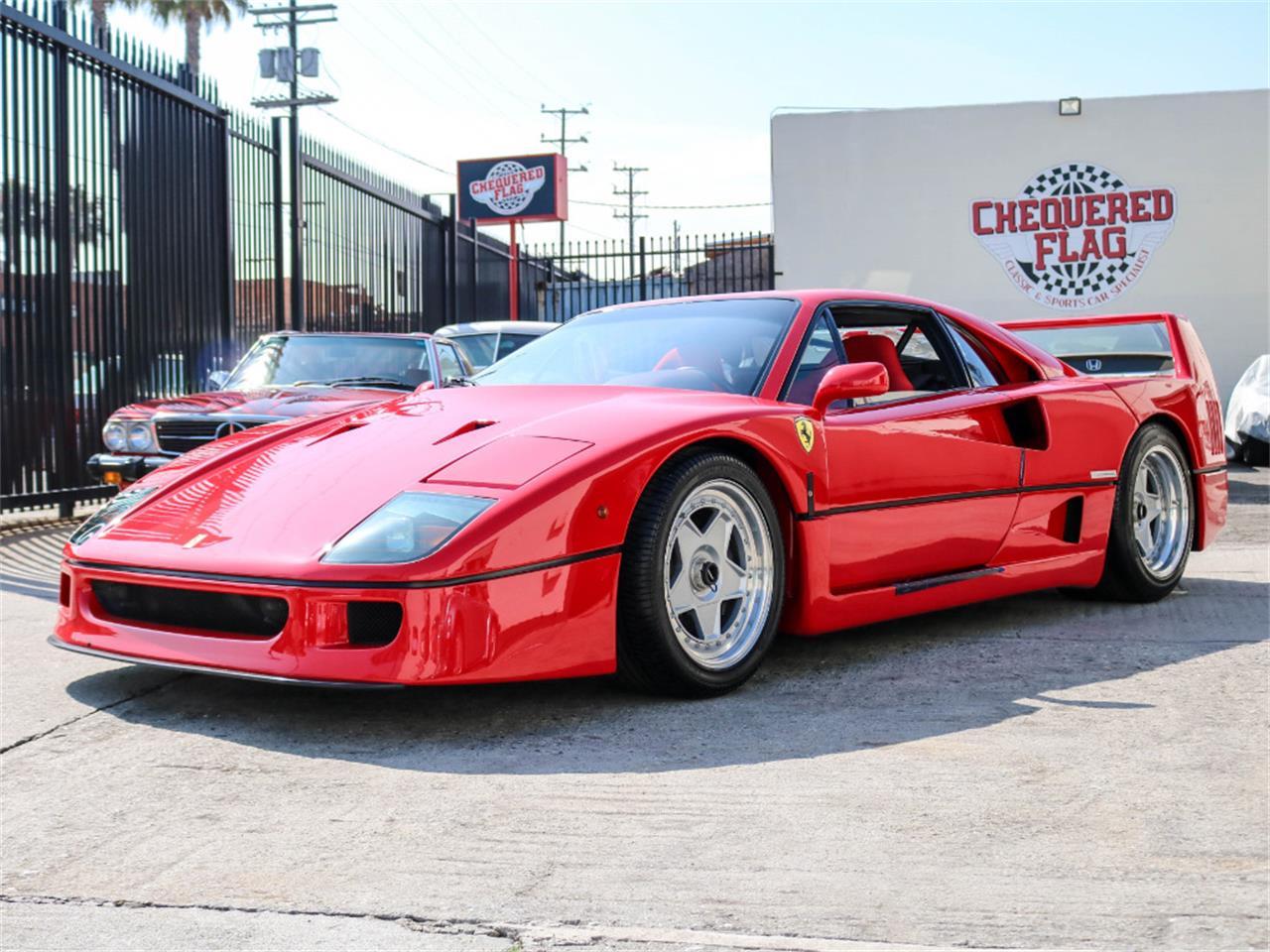 Ferrari F40 For Sale >> For Sale 1991 Ferrari F40 In Marina Del Rey California