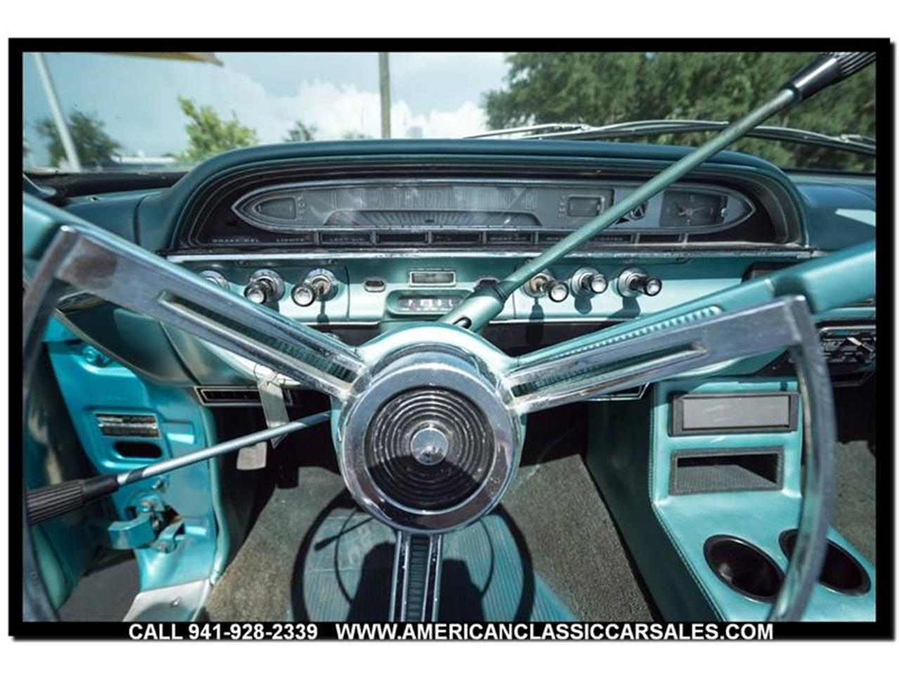 Large Picture of Classic '61 Ford Sunliner located in Sarasota Florida Offered by American Classic Car Sales - LEJC