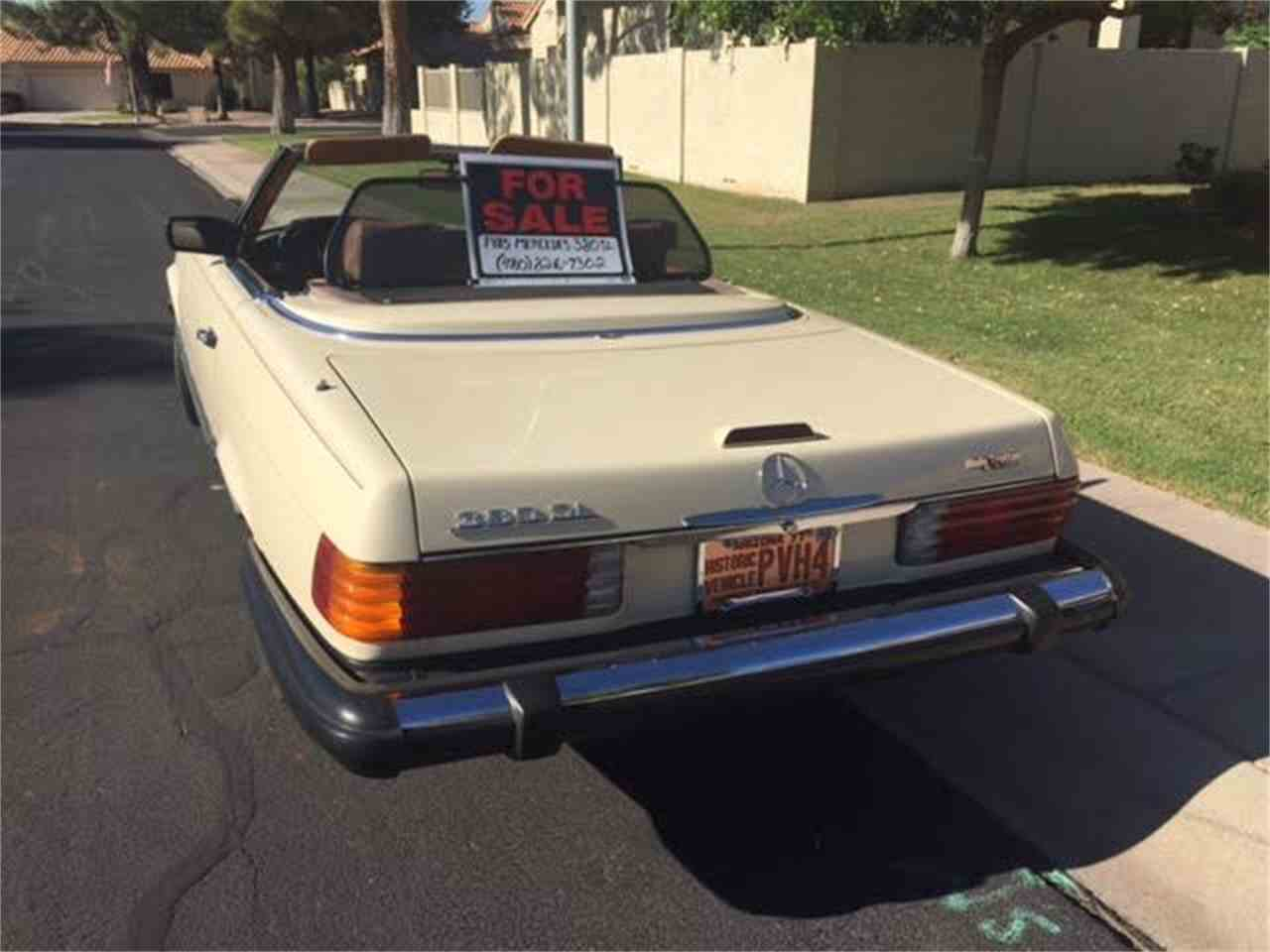 Large Picture of 1985 380SL - $7,000.00 - LEKA