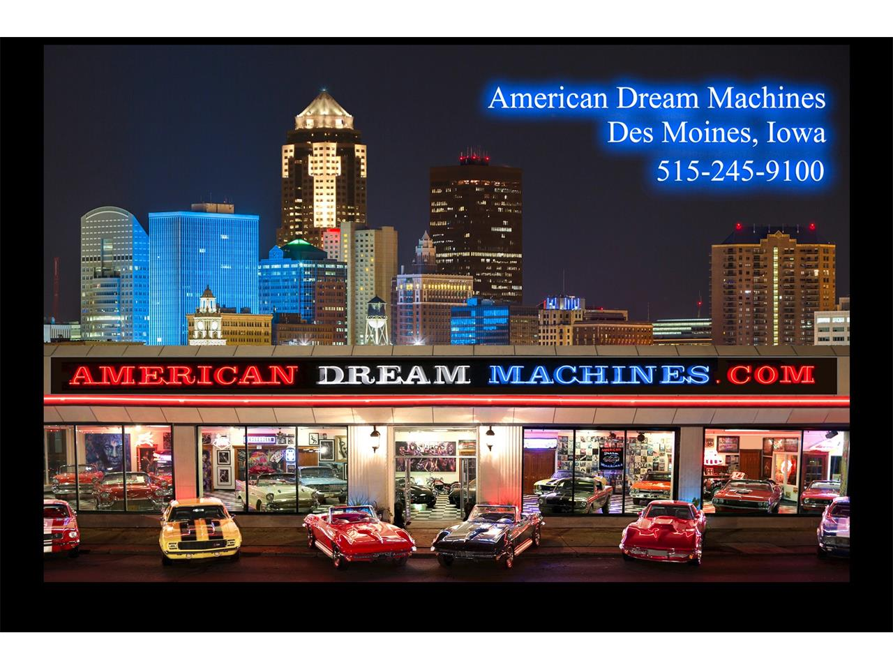 Large Picture of '69 Ford Mustang Offered by American Dream Machines - LEMI
