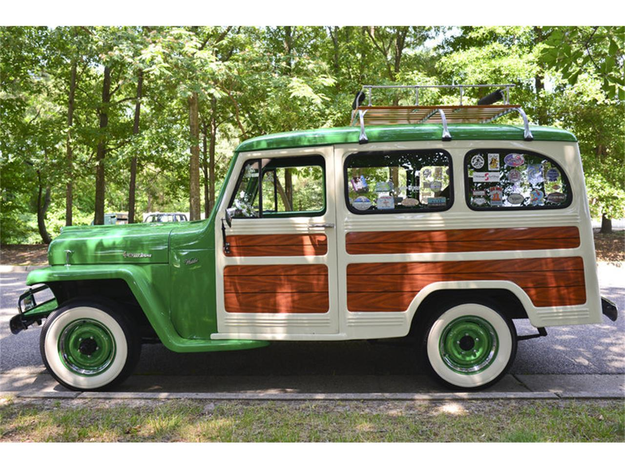1952 Jeep Willys Woody Wagon for Sale | ClassicCars com | CC