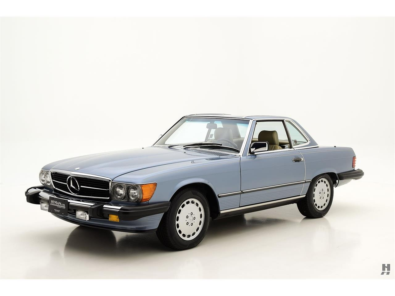 Large Picture of 1987 Mercedes-Benz 560SL located in Saint Louis Missouri Offered by Hyman Ltd. Classic Cars - LENL