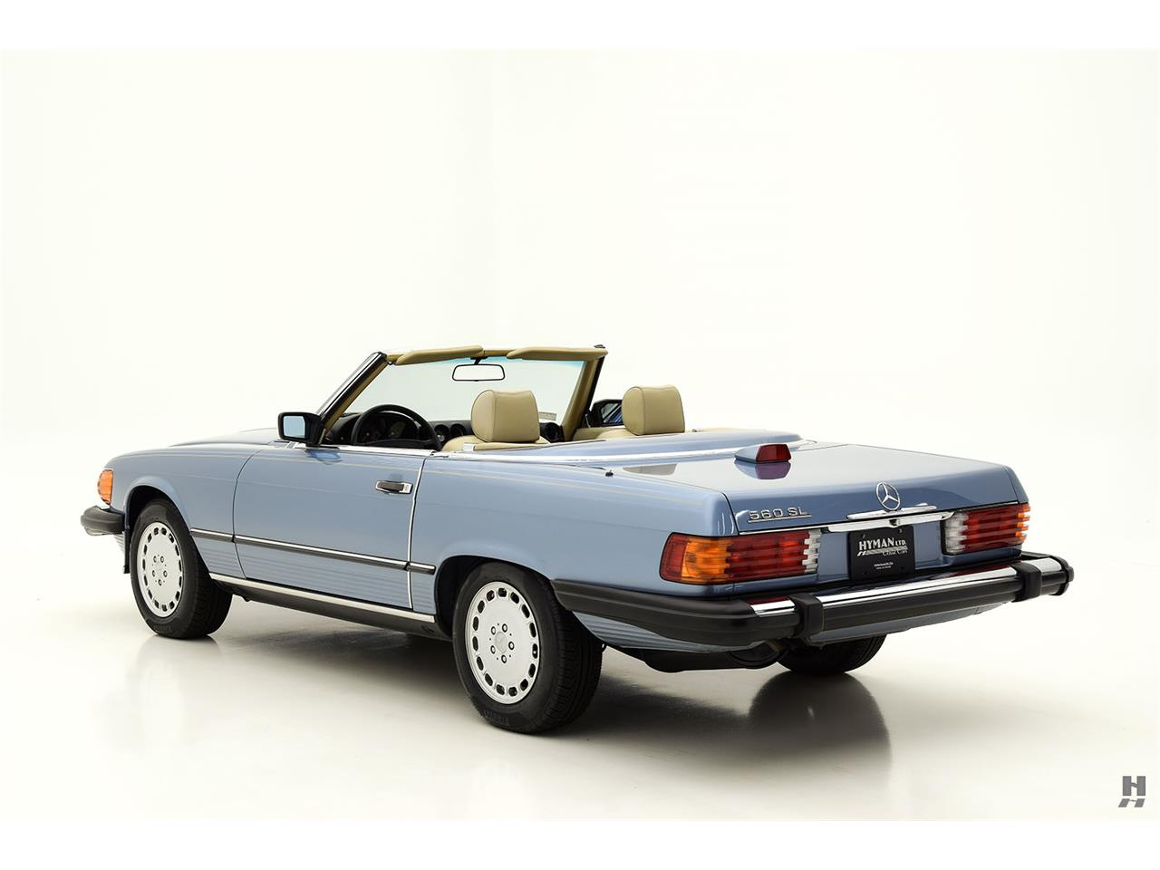 Large Picture of '87 Mercedes-Benz 560SL located in Saint Louis Missouri - $48,500.00 Offered by Hyman Ltd. Classic Cars - LENL