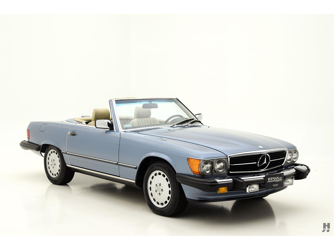 Large Picture of '87 Mercedes-Benz 560SL - $48,500.00 Offered by Hyman Ltd. Classic Cars - LENL