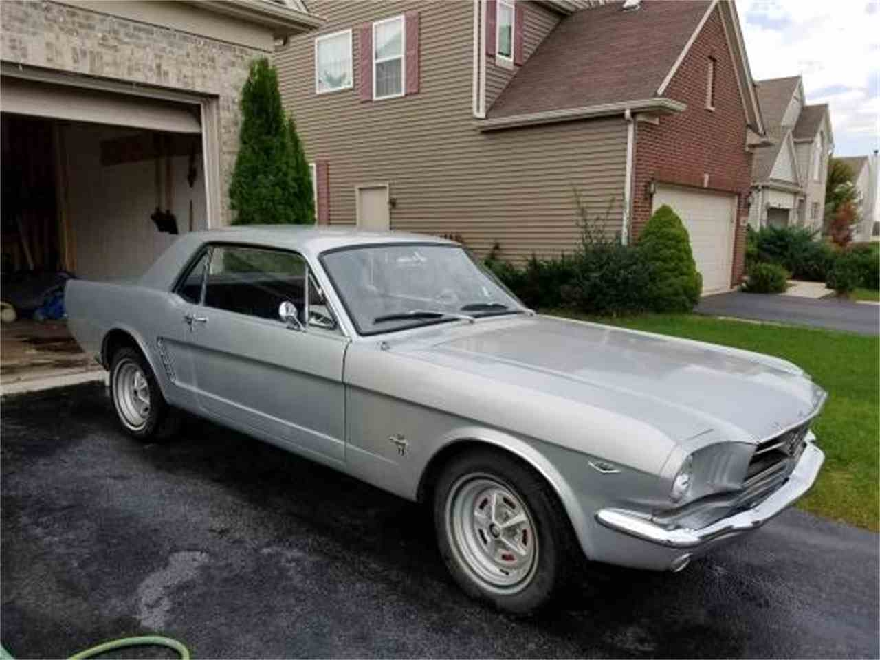 Large Picture of '64 Mustang - LEOI