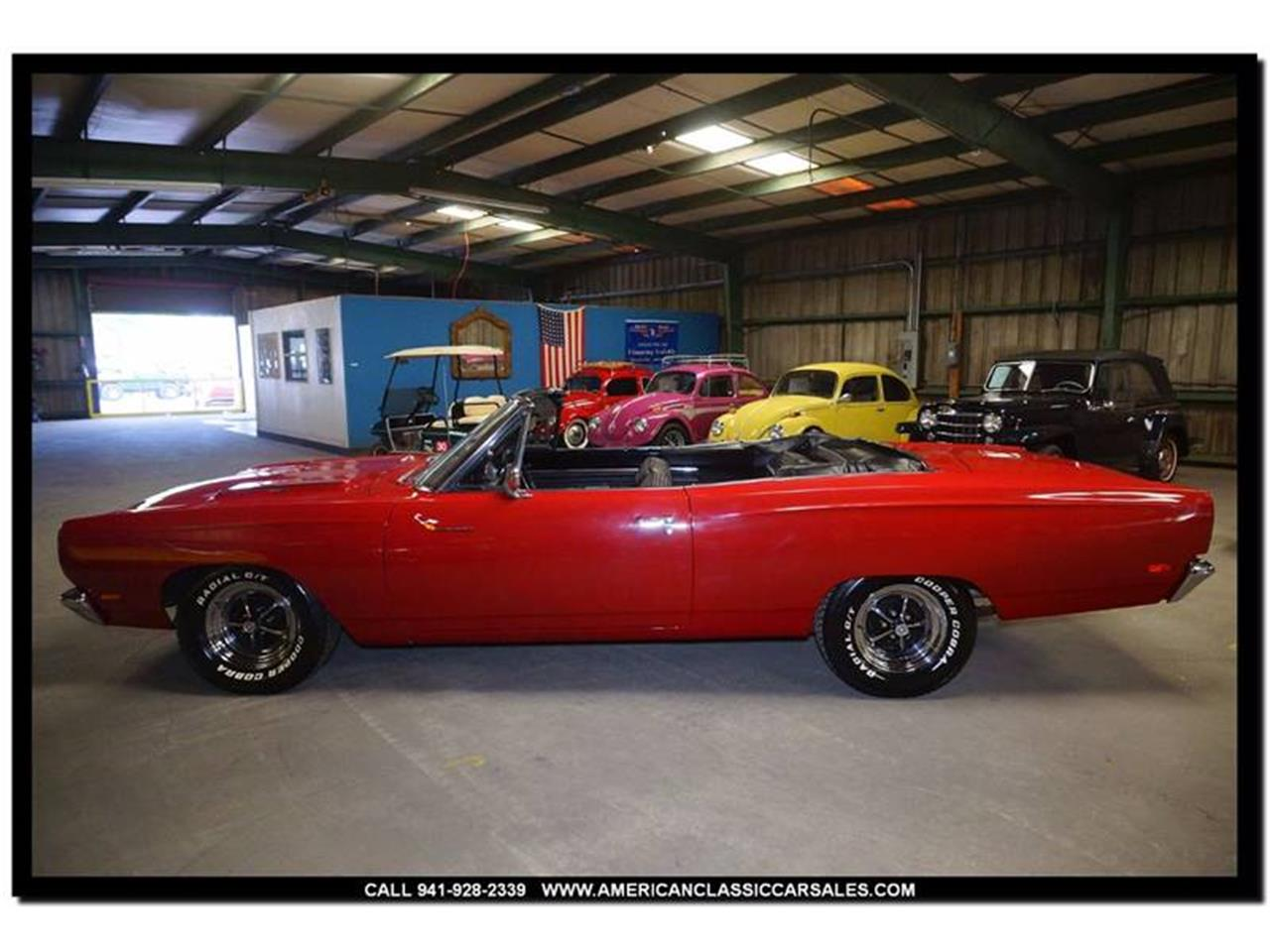 Large Picture of Classic 1969 Plymouth Road Runner located in Sarasota Florida - LEQT