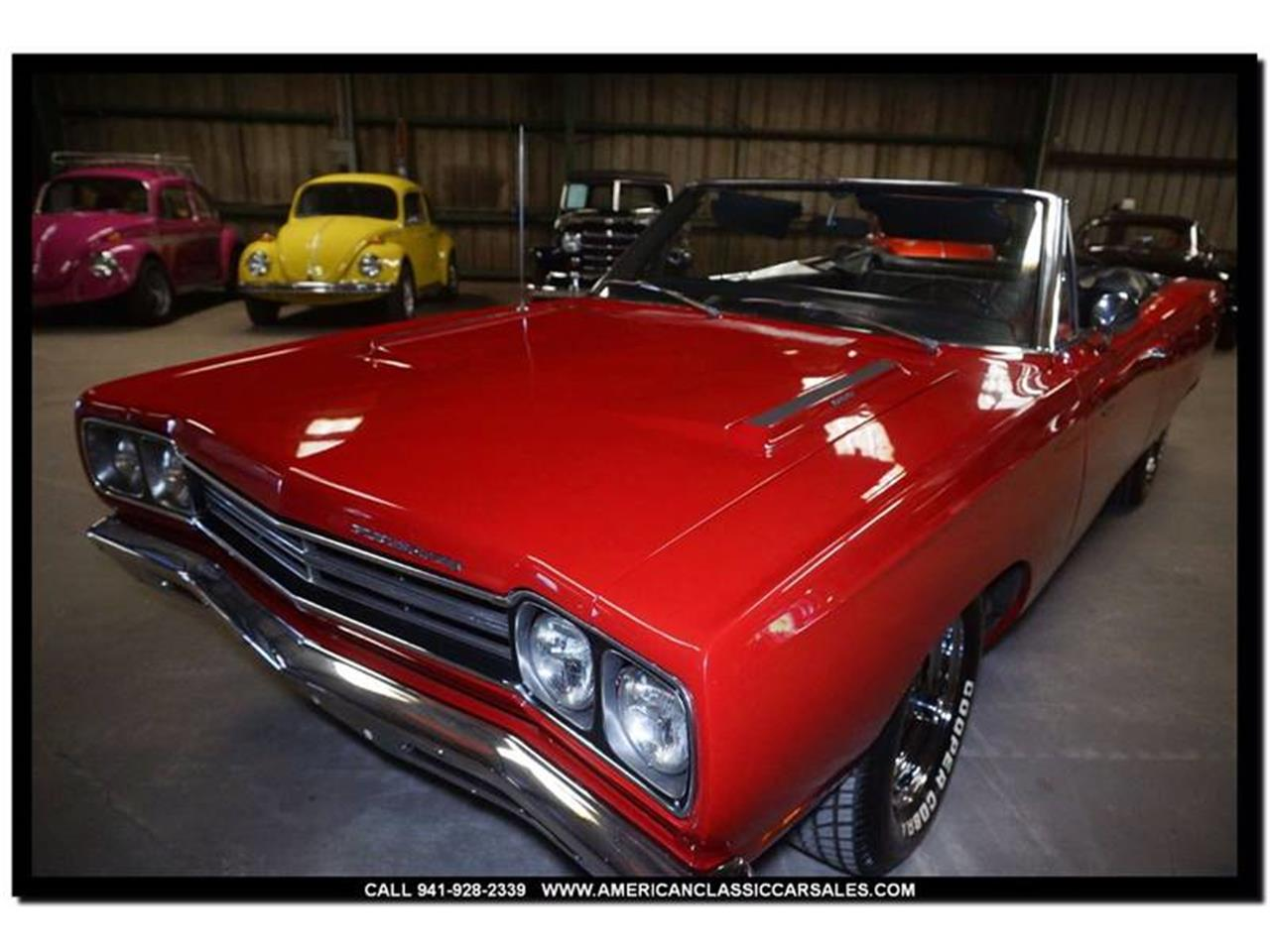 Large Picture of '69 Plymouth Road Runner located in Florida Offered by American Classic Car Sales - LEQT