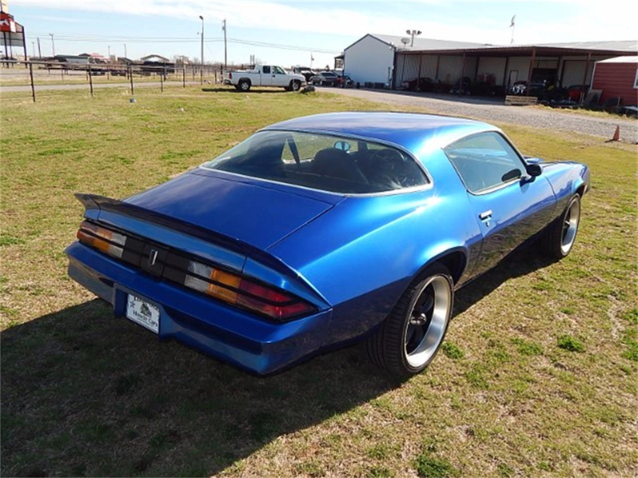 Large Picture of '79 Camaro located in Wichita Falls Texas - $19,900.00 Offered by Lone Star Muscle Cars - L8KU