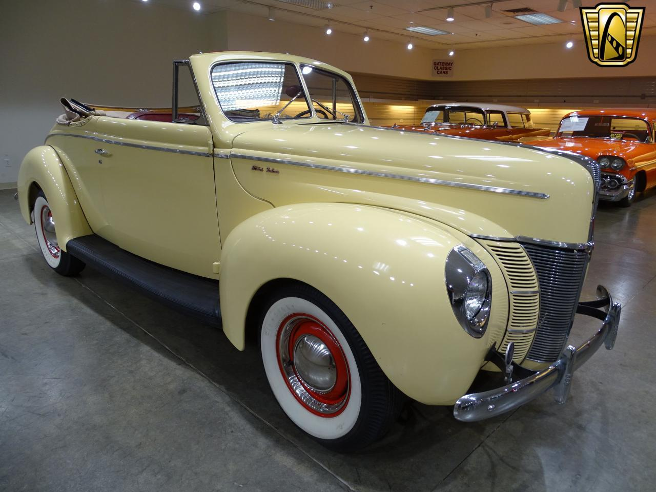 Large Picture of '40 Ford 2-Dr Coupe Offered by Gateway Classic Cars - St. Louis - LETL