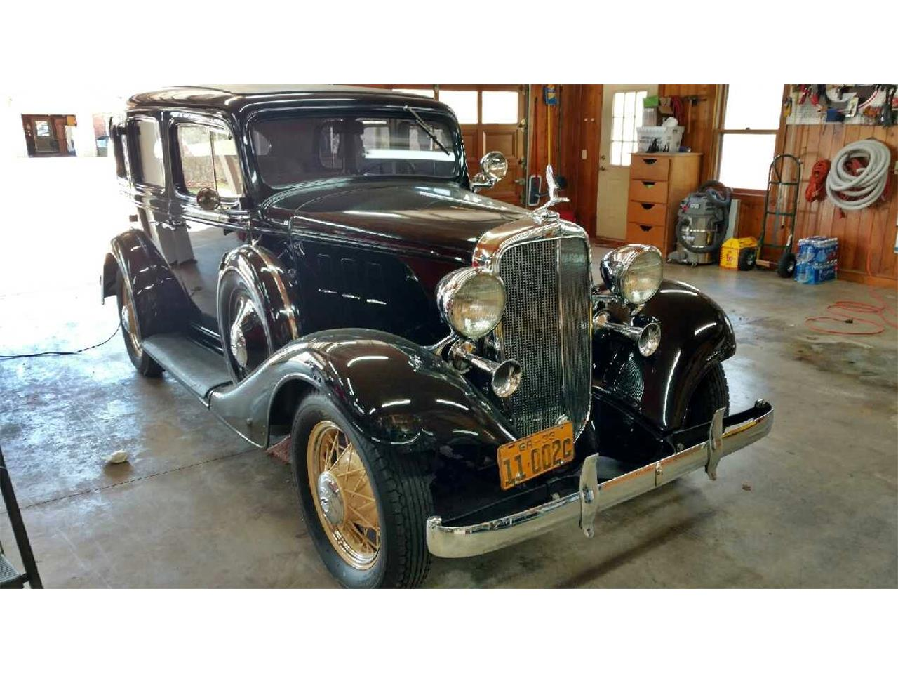 Large Picture of Classic '33 Sedan located in Alpharetta Georgia - $55,000.00 Offered by Muscle Car Jr - LEWO