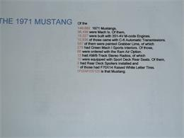 Picture of Classic '71 Mustang Mach 1 located in Saugus California - $24,950.00 - LEX9