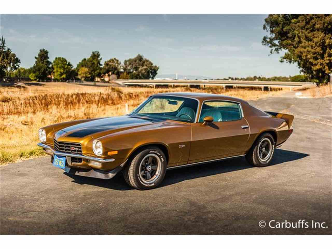1972 chevrolet camaro for sale cc 999124. Black Bedroom Furniture Sets. Home Design Ideas