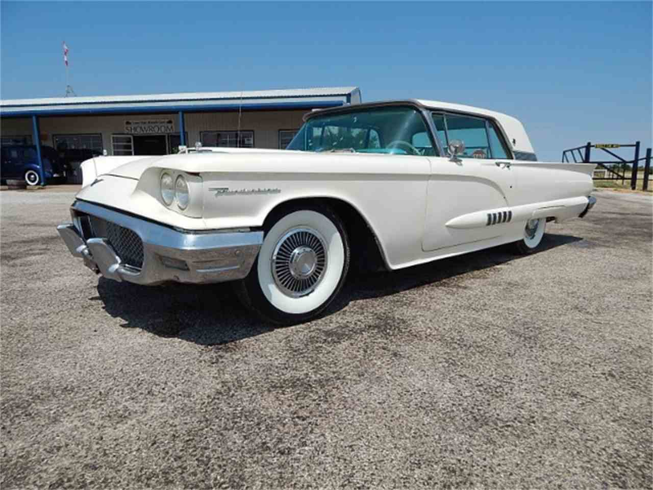 Large Picture of Classic '58 Ford Thunderbird located in Wichita Falls Texas Offered by Lone Star Muscle Cars - L8LD