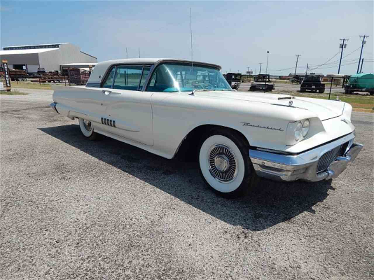 Large Picture of '58 Thunderbird located in Wichita Falls Texas Offered by Lone Star Muscle Cars - L8LD