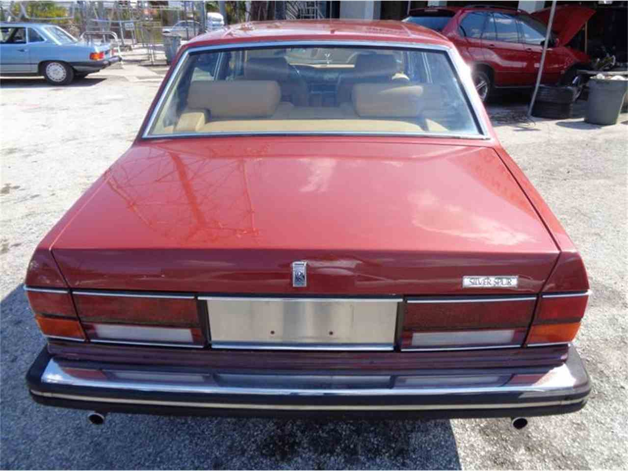 Large Picture of '84 Silver Spur - LEY8