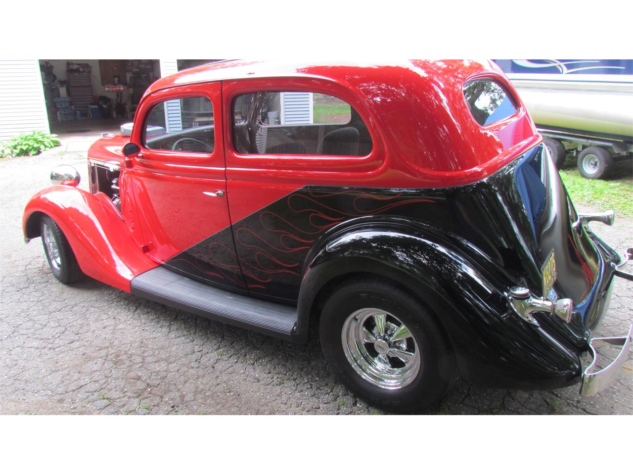 Large Picture of 1935 Ford Tudor located in Orchard Lake Michigan - $42,900.00 Offered by a Private Seller - LF0C