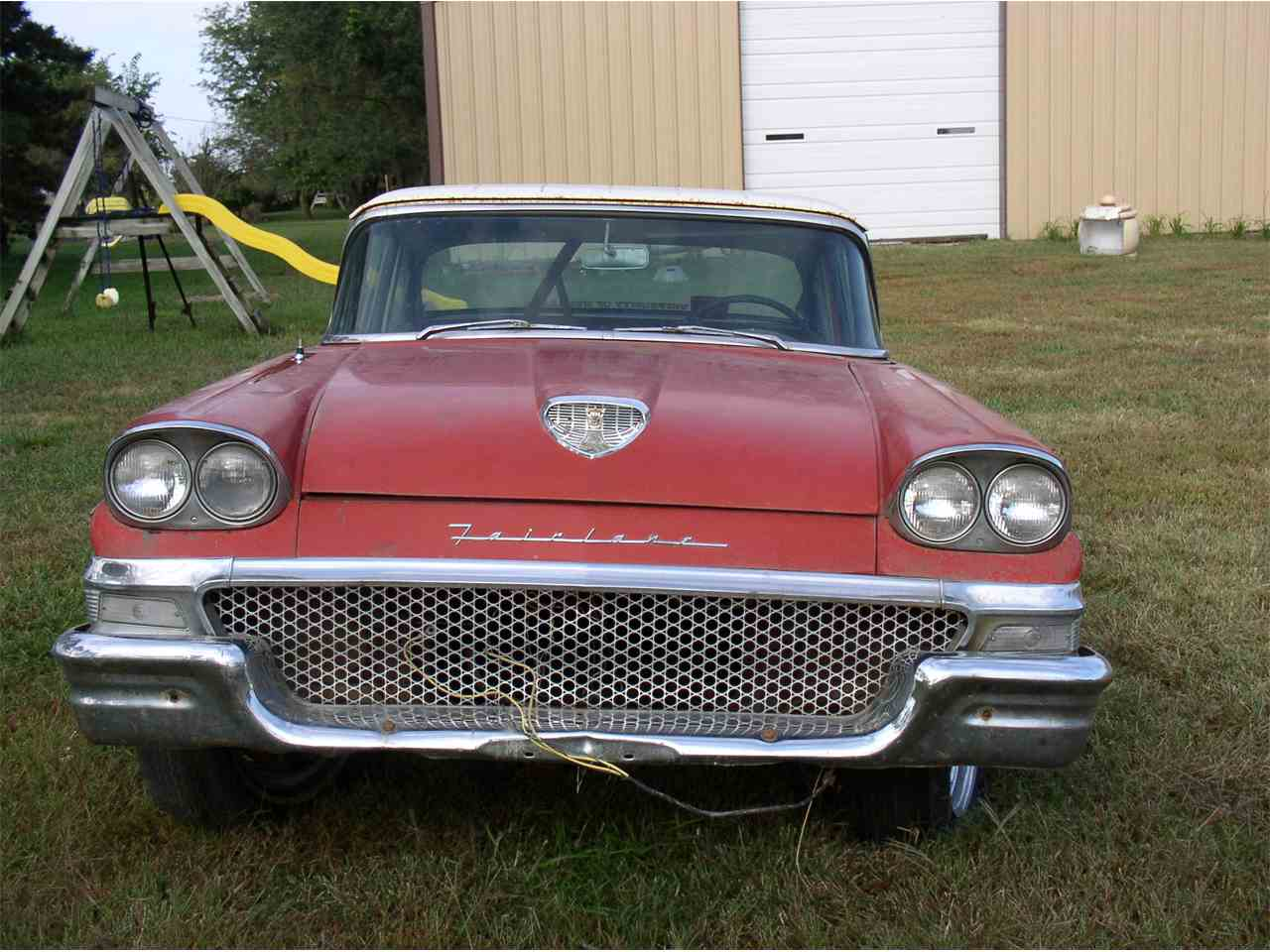 Large Picture of '58 Fairlane - LF6F
