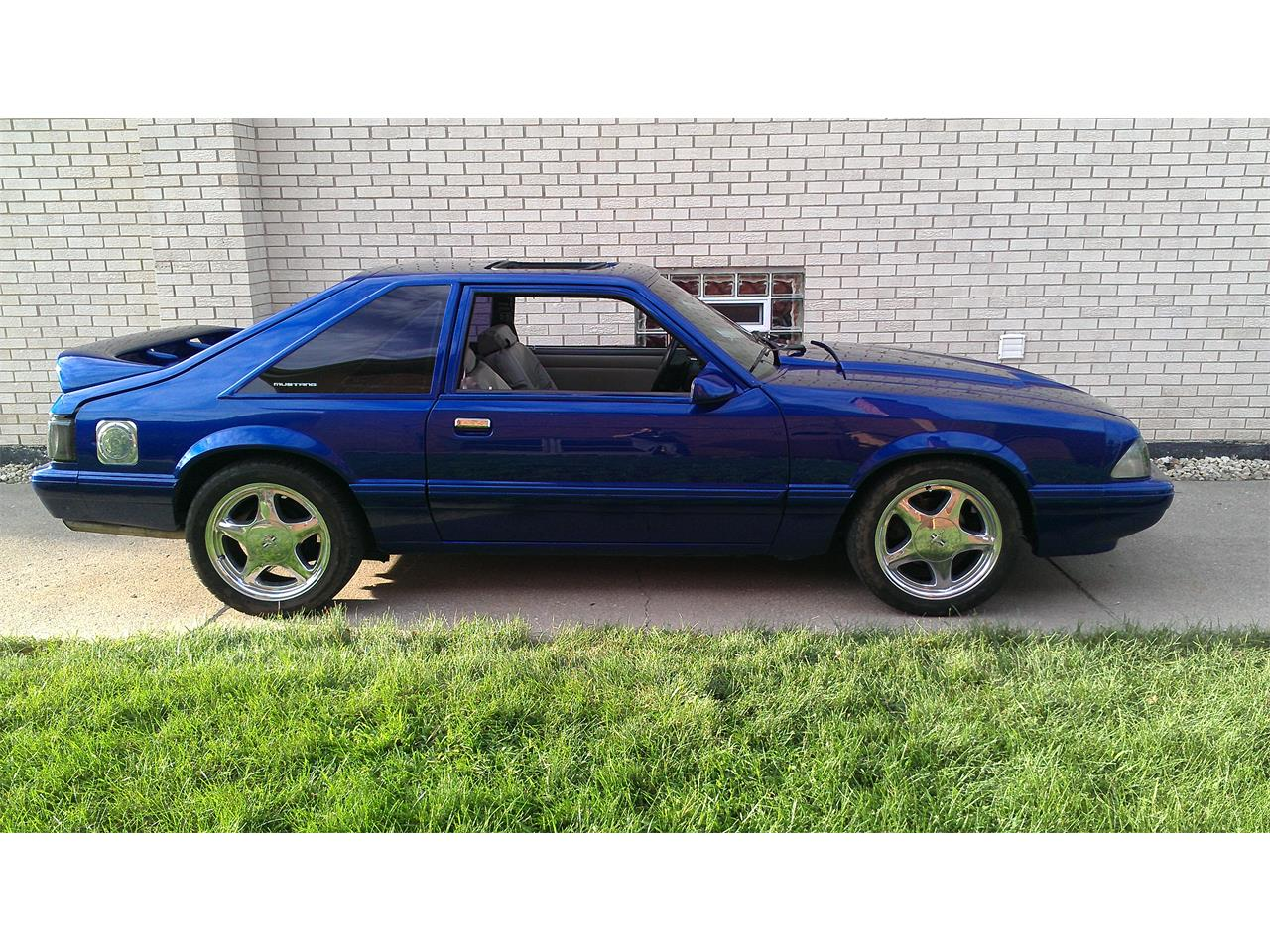 Large picture of 1991 mustang located in indiana offered by a private seller lfdt