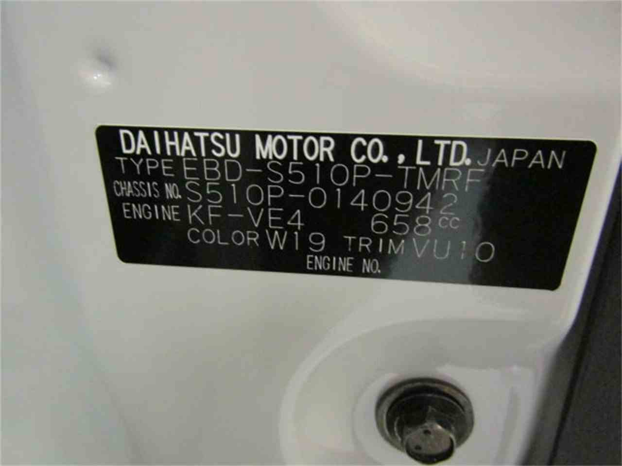 Large Picture of '17 Daihatsu HiJet located in Virginia Offered by Duncan Imports & Classic Cars - LFGO