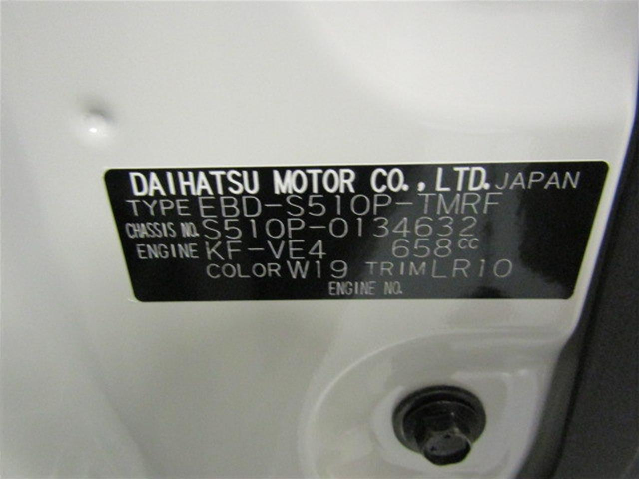 Large Picture of '17 Daihatsu HiJet located in Virginia Offered by Duncan Imports & Classic Cars - LFGT