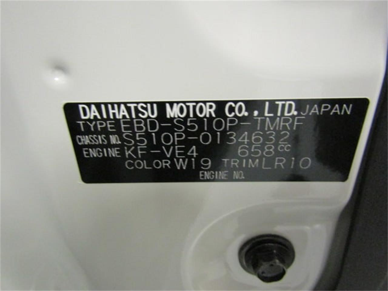 Large Picture of '17 Daihatsu HiJet located in Christiansburg Virginia - $14,417.00 - LFGT