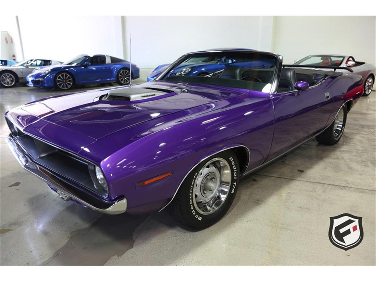 Large Picture of '70 Hemi 'Cuda Convertible located in Chatsworth California - $99,900.00 Offered by Fusion Luxury Motors - LFH0