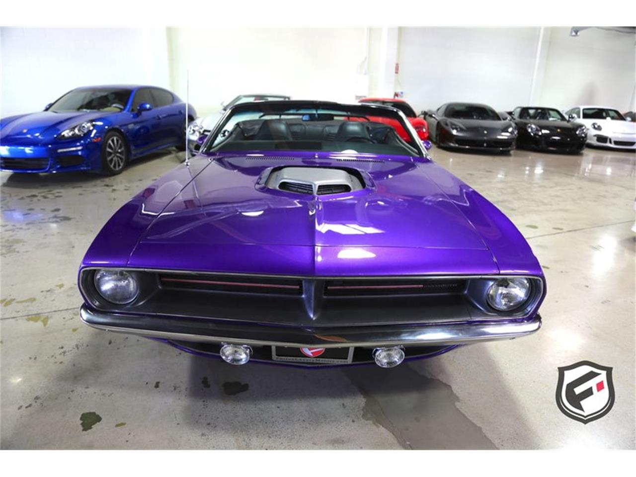Large Picture of Classic '70 Plymouth Hemi 'Cuda Convertible located in California Offered by Fusion Luxury Motors - LFH0