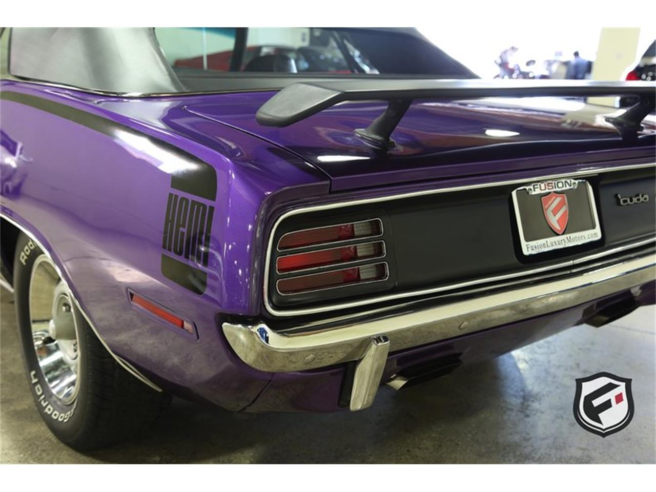 Large Picture of 1970 Hemi 'Cuda Convertible located in California - $99,900.00 Offered by Fusion Luxury Motors - LFH0