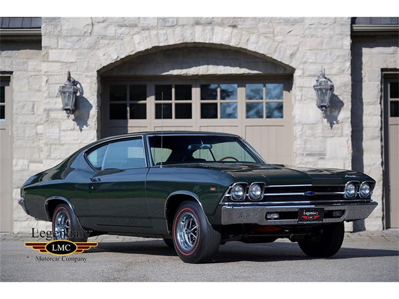 Large Picture of '69 Chevrolet Chevelle located in Halton Hills Ontario Offered by Legendary Motorcar Company - LFIR